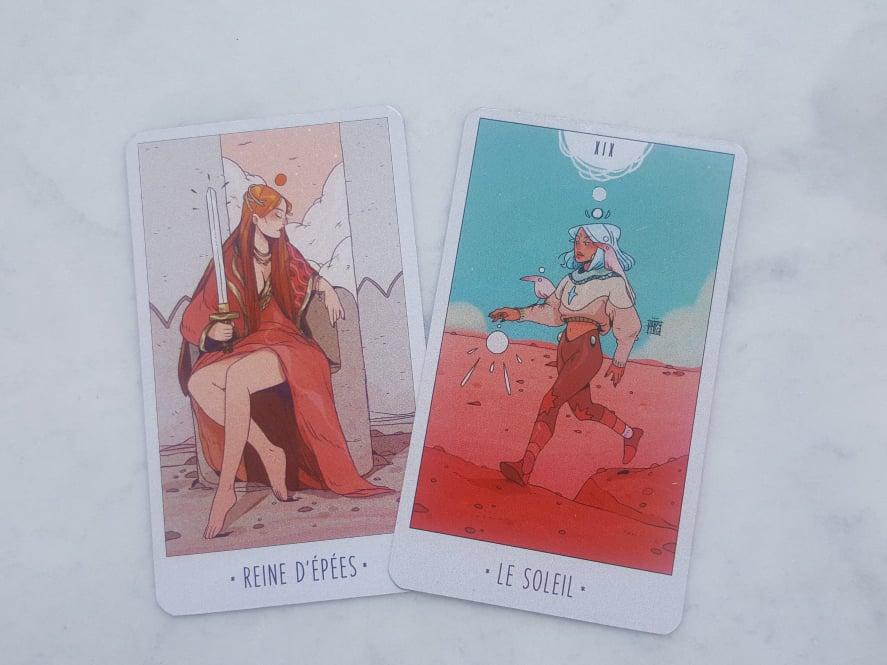 Les cartes de tarot du mois de juillet